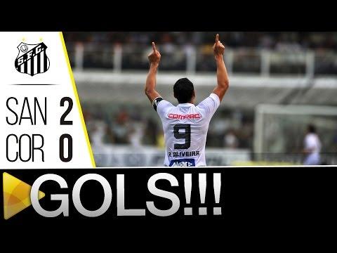 Santos 2 x 0 Corinthians | GOLS | Paulistão (06/03/16)