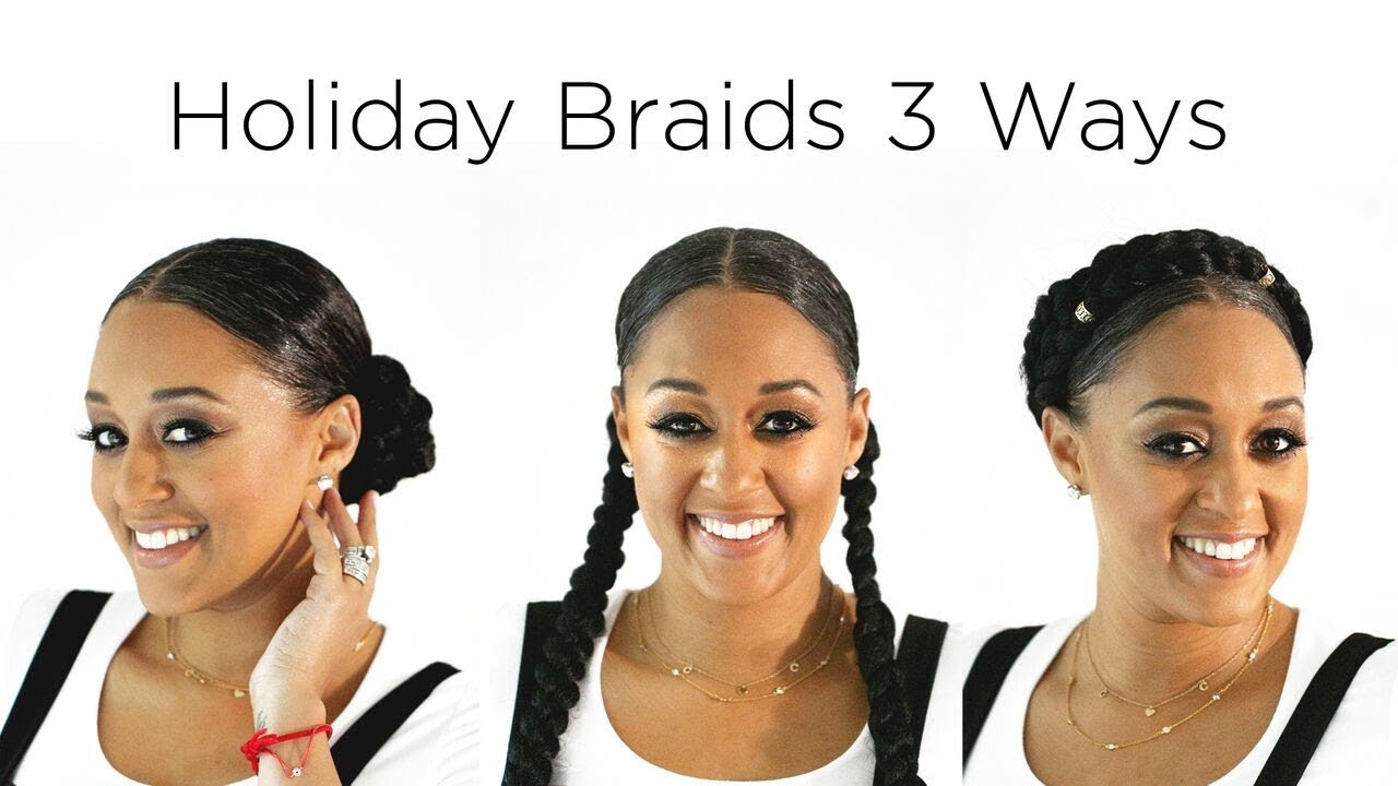 Tia Mowrys Holiday Hair 3 Braided Hairstyles Quick