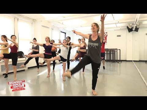 Beginner JUMPS & TURNS W/ Shelly Hutchinson | BROADWAY DANCE CENTER #bdcnyc