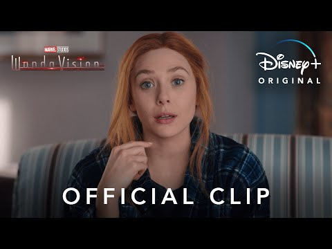 """""""We've All Been There"""" Clip   Marvel Studios' WandaVision   Disney+"""
