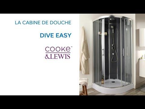 Cabine De Douche Dive Easy Cooke Lewis Castorama Youtube