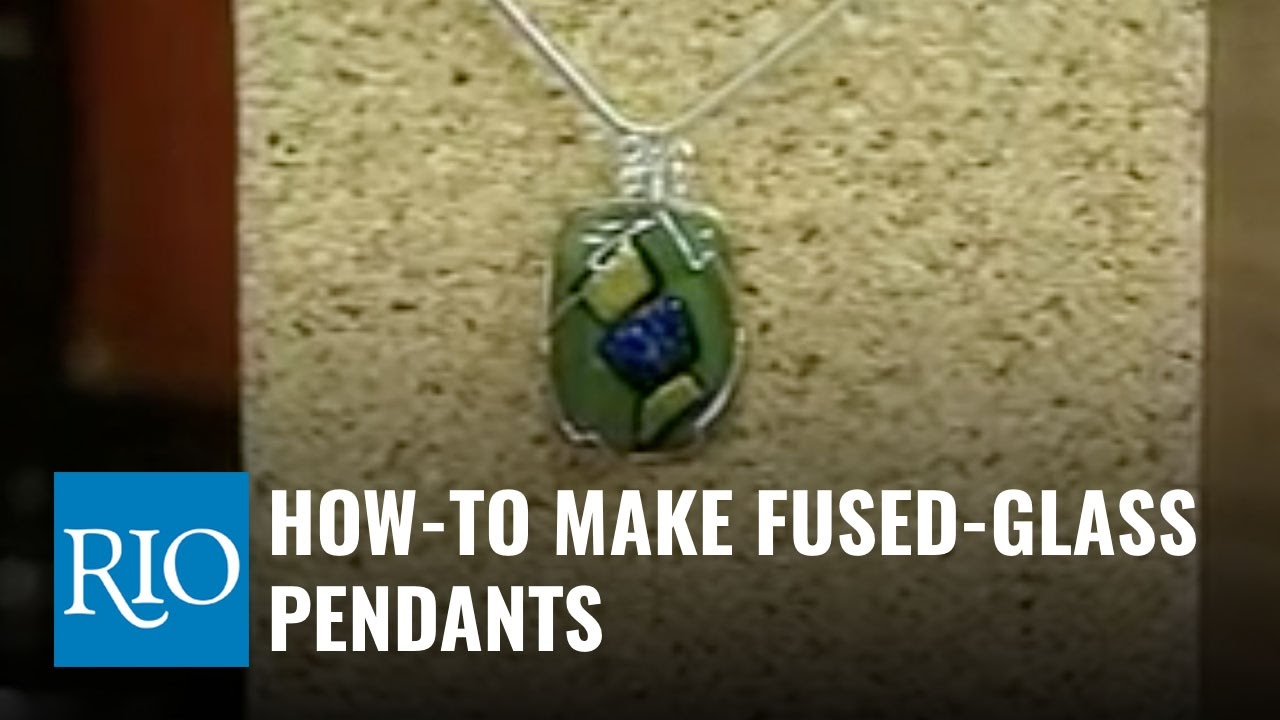 How to make fused glass pendants youtube how to make fused glass pendants mozeypictures Images