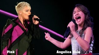 "Angelica Hale and Pink ""A Million Dreams"""