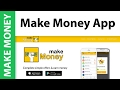 The Make Money App IS Legit! I've Made $65 Using the App