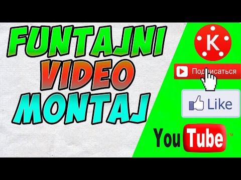 FUNTAJNI VIDEO MONTAJDA ISHLASH KINEMASTER