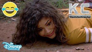 K.C. Undercover | Stuck In The Jungle 😂 | Disney Channel UK