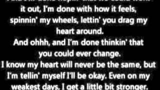 Sara Evans- A Little Bit Stronger Music Video/Lyrics