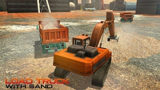 Sand Excavator Road Build & Construction Simulator | Android Gameplay (Cartoon Games Network)