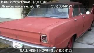 1964 Chevrolet Nova  for sale in , NC 27603 at Classicautosf #VNclassics