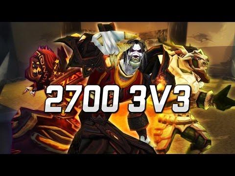 Fire Mage 3v3: 2700 Fireplay