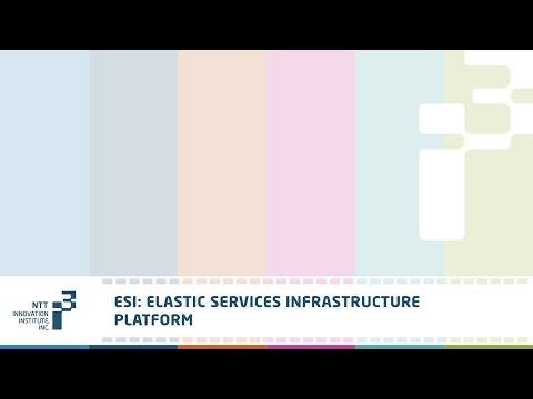 Elastic Services Infrastructure Platform - NTT Innovation Institute