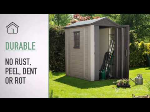 FACTOR 4x6 Garden Shed At Cheap Sheds
