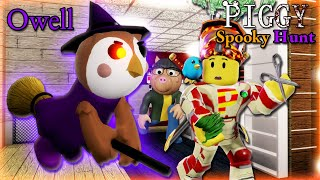 """ROBLOX PIGGY SPOOKY HUNT """"PART 2""""!! NEW OWELL SKIN!! Oh well..."""