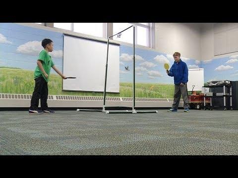 Brooklyn Park fifth-grader invents aeropong