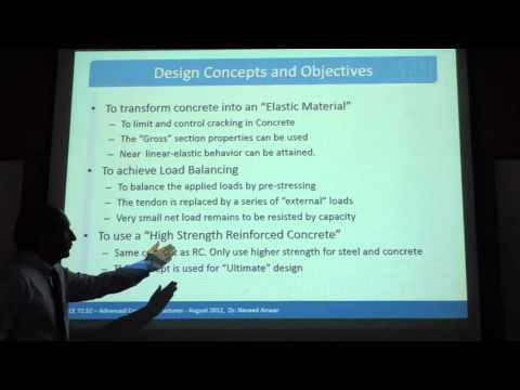 Lecture 7- (Part1) Pre-stressed Concrete