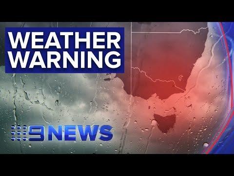 Winter Storm Lashes Large Parts Of Australia's South-east   Nine News Australia