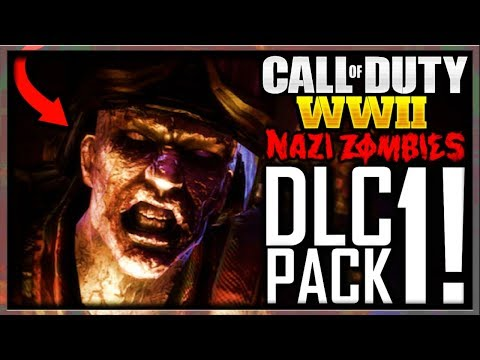 Call of Duty WW2 ZOMBIES DLC 1 LEAKED INFO ALREADY! :O (COD WW2 ZOMBIES DLC 1 / WORLD WAR 2 ZOMBIES)