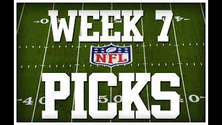 WEEK 7 NFL PICKS!!