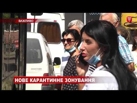 Телеканал ВІТА: Нове карантинне зонування, новини 2020-09-25