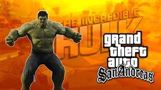 Momentos Engraçados: GTA San Andreas (O Incrivel Hulk & Bug)