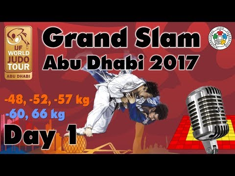 Judo Grand-Slam Abu Dhabi 2017: Day 1