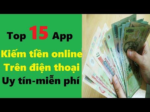 Top 15 app kiếm tiền online trên điện thoại uy tín   Kiếm tiền online qua app uy tín mới nhất
