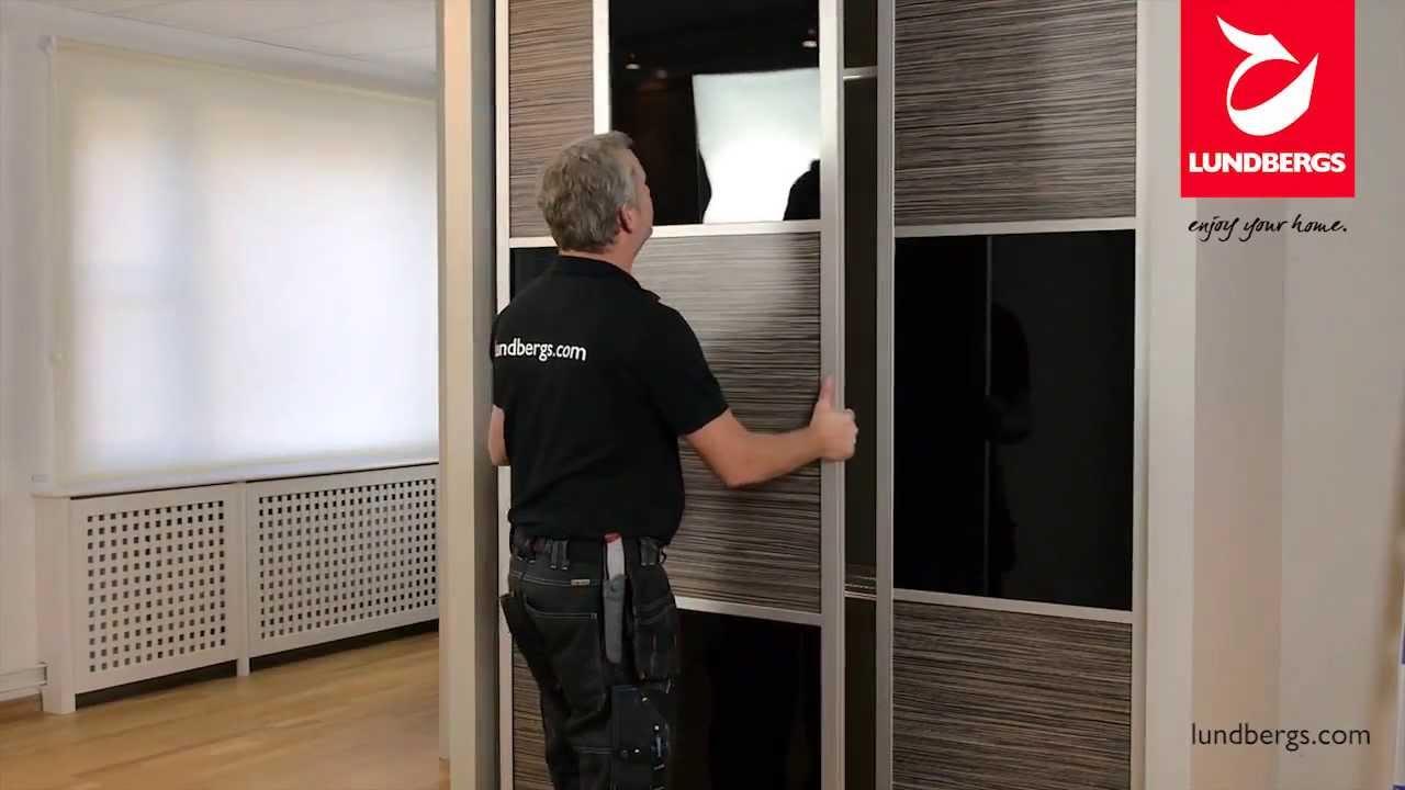 Omtalade Skjutdörrar och garderobsförvaring (Montering) - YouTube WI-49