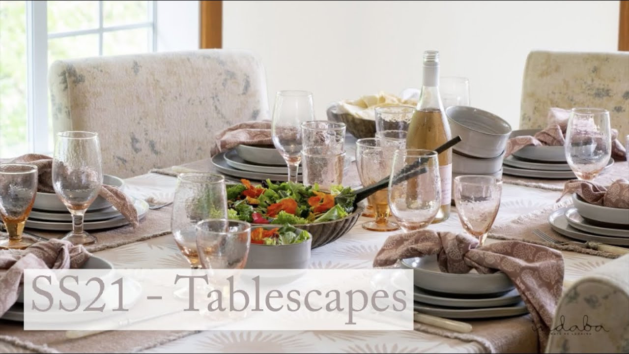 Indaba Spring/Summer 2021 -  Tablescapes