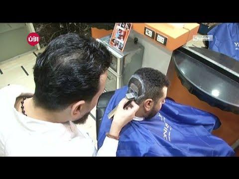 حلاق مصري يرسم وجه محمد صلاح على رؤوس محبي اللاعب المصري  - نشر قبل 2 ساعة