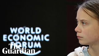 Davos 2020: Greta Thunberg leads a school strike for the climate emergency - watch live