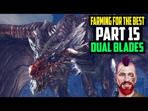 Tempered Monster Hunter: World | Part 15 - Fire And Ice Dual Blades Farming | 1080p PS4 Pro Gameplay