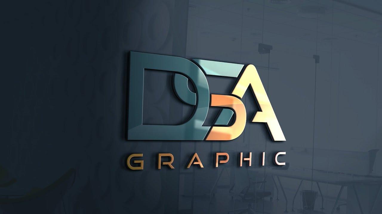 Typography Logo Design In Coreldraw   Text Logo Design In Coreldraw   Dsa Graphic   Hindi & Urdu