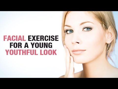 How to Exercise Facial Muscles | Exercise Your Face to Look Younger  - kiran sawhaney