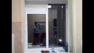 Установка сэндвич-панели в глухое окно под кондиционер(Официальный канал сайта