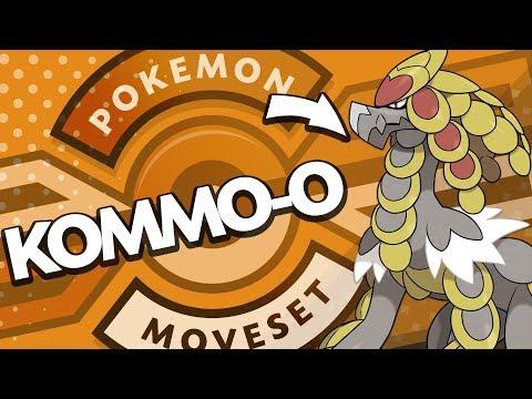 Kommo-o Moveset Guide! How to use Kommo-o! Pokemon Ultra Sun and Moon! w/ PokeaimMD!