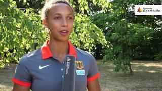 Weitsprung-Europameisterin Malaika Mihambo zur Dualen Karriere