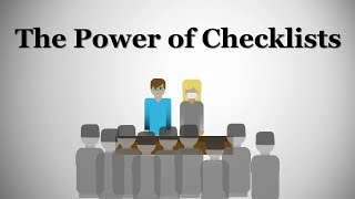 The Power of Checklists: The Incredible Impact of the Obvious Tool