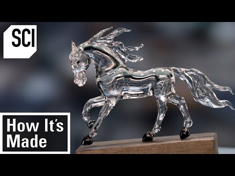 How to Make Glass Sculptures | How It's Made