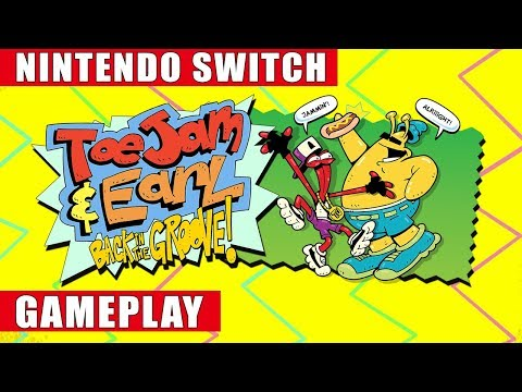 ToeJam & Earl: Back In The Groove Nintendo Switch Gameplay