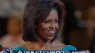 Michelle, Sasha,and Malia Obama (I Love you daddy!).flv