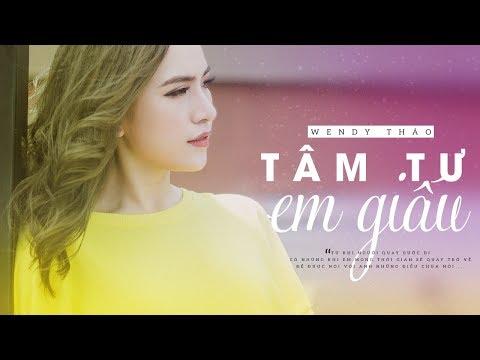 Tâm Tư Em Giấu ★ Wendy Thảo | MV Lyric Official (#TTEG)