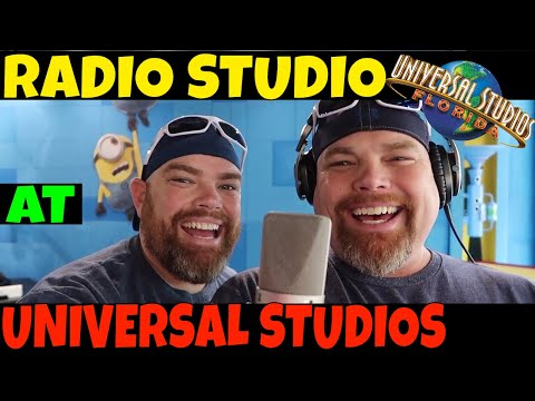 Universal Studios Florida Radio Studio 2018