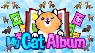ОТКРЫВАЕМ наклейки КОТЫ и клеим в мультяшный альбом My Cat Album