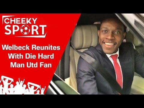 Danny Welbeck Reunites With Super Man Utd Fan | Arsenal 1-1 Tottenham | North London Derby