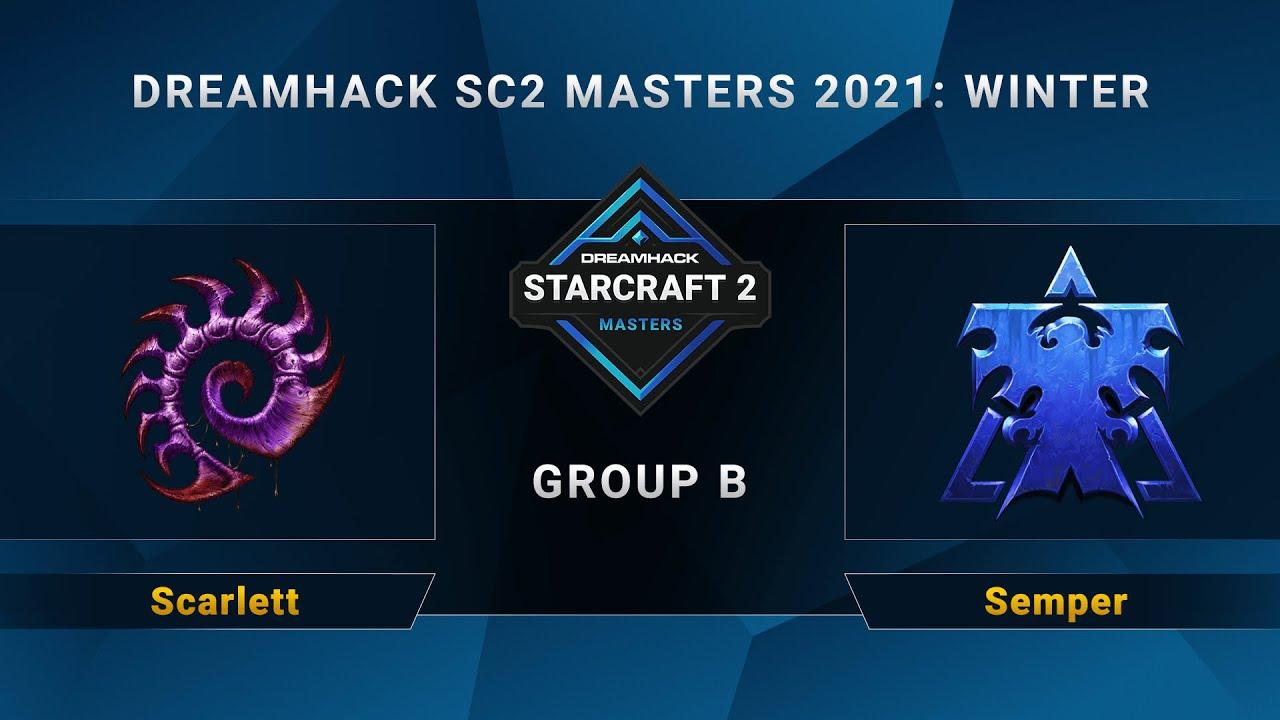 Download SC2 - Scarlett vs. Semper - Group B - DreamHack SC2 Masters 2021 Winter - NA