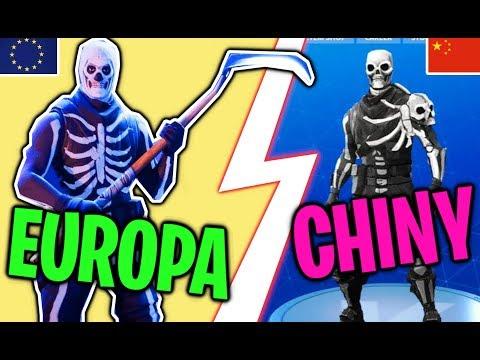 TOP 5 Różnic Pomiędzy CHIŃSKĄ WERSJĄ A EUROPEJSKĄ! (Fortnite Battle Royale)