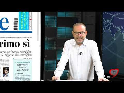 I giornali in edicola - la rassegna stampa 19/01/2021