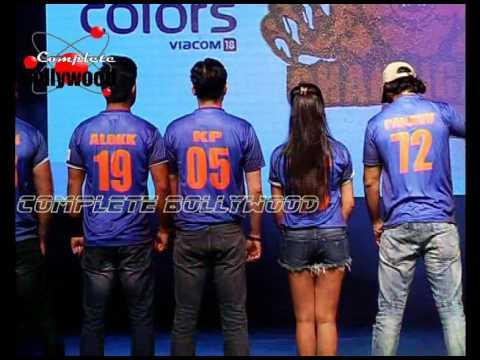Sunny Leone, Ekta Kapoor & TV Celebs at PC of 'Box Cricket League'