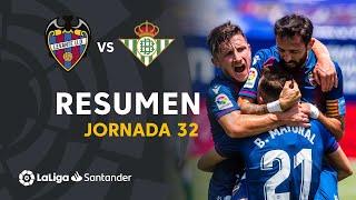 Resumen de Levante UD vs Real Betis (4-2)