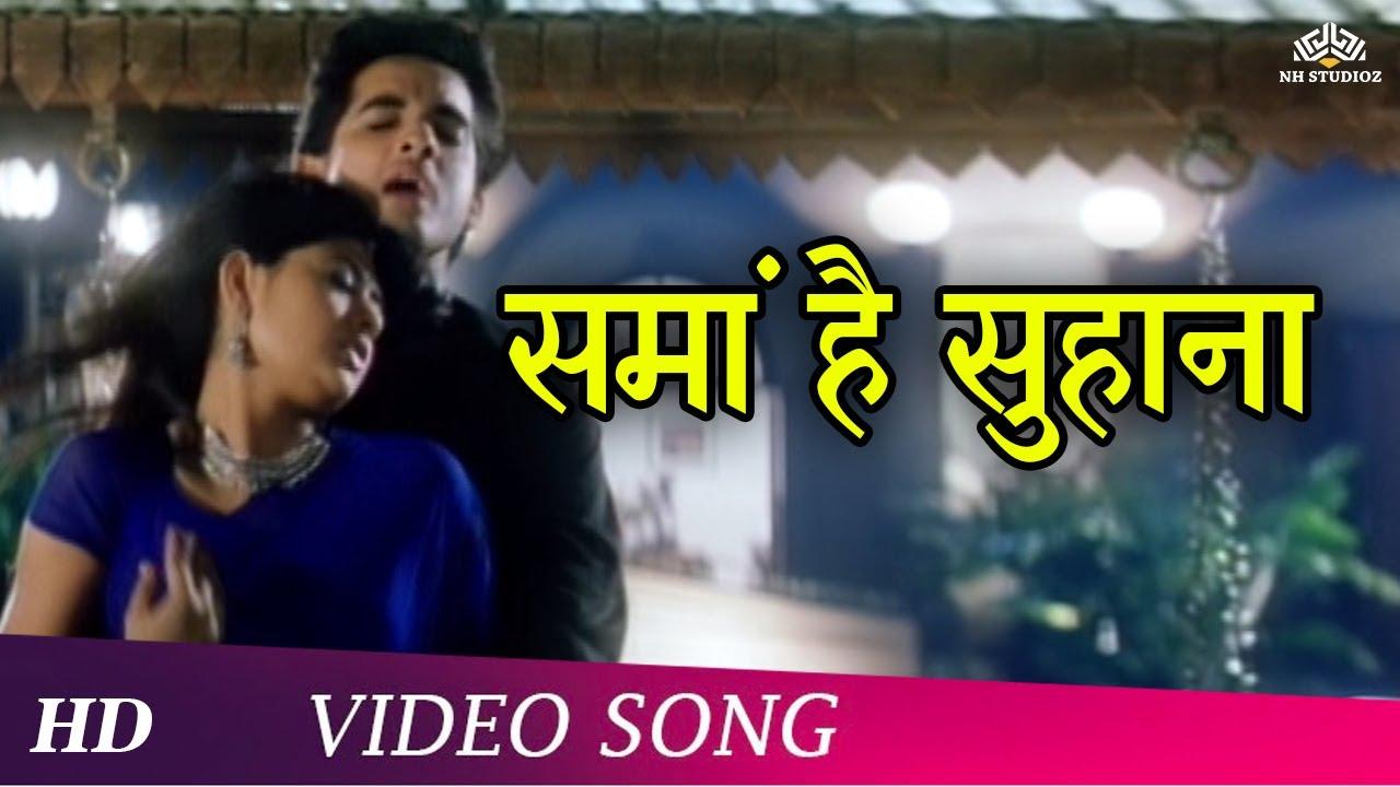 Download Sama Hai Suhana (HD)   Pyaar Zindagi Hai (2001)   Kumar Sanu Hits   Hindi Romantic Song